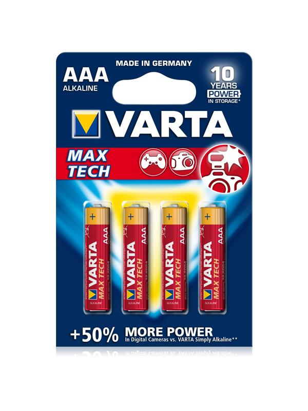 VARTA MAXTECH AAA 1,5V, 4KS BLISTER (VAR 4703 4X)