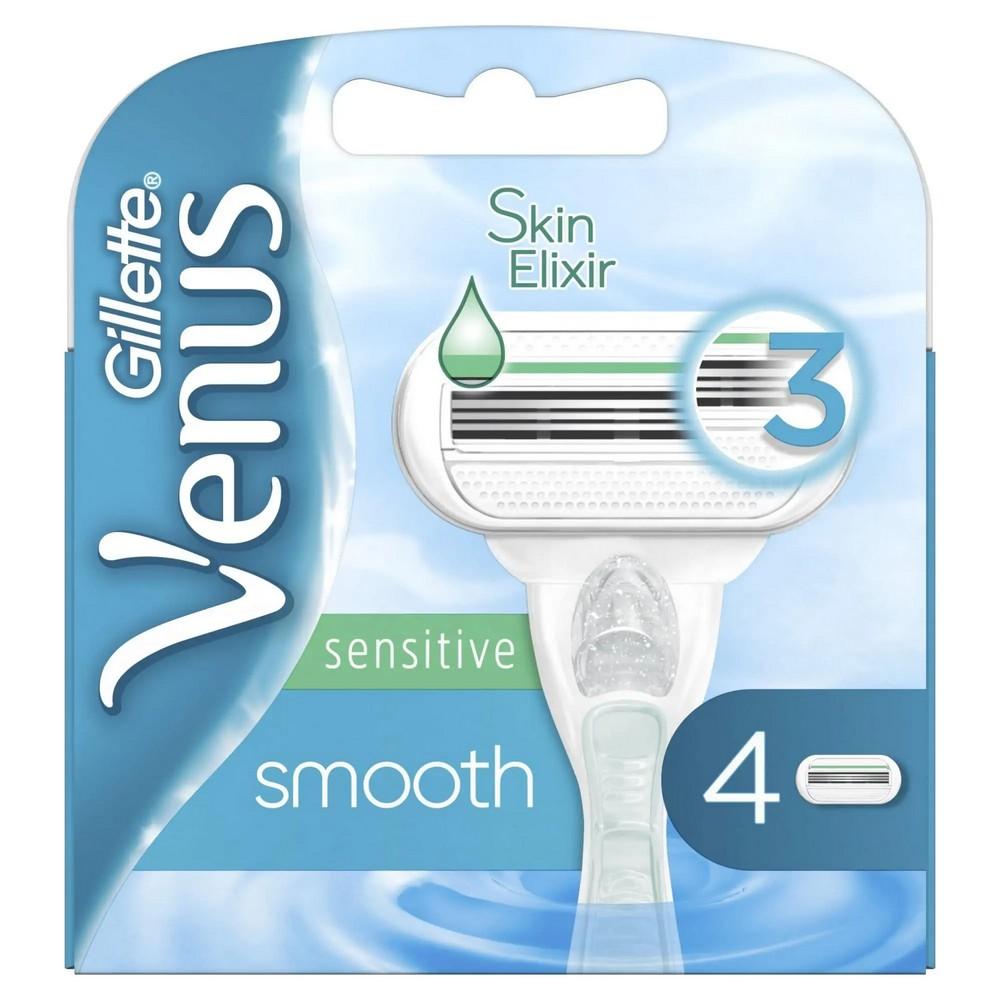 VENUS SMOOTH SENSITIVE - 4 HLAVICE
