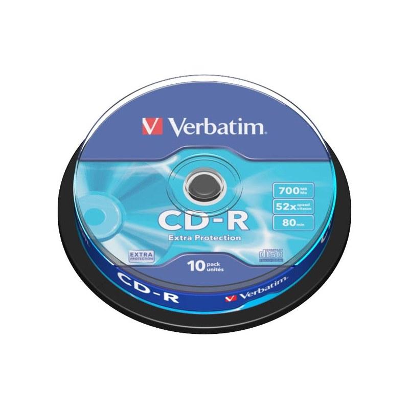 VERBATIM CD-R/10 CAKE 43437