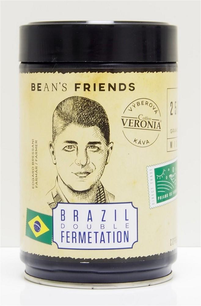 VERONIA BRAZIL DOUBLE FERMENTATION 250 G ZRNKOVA KAVA