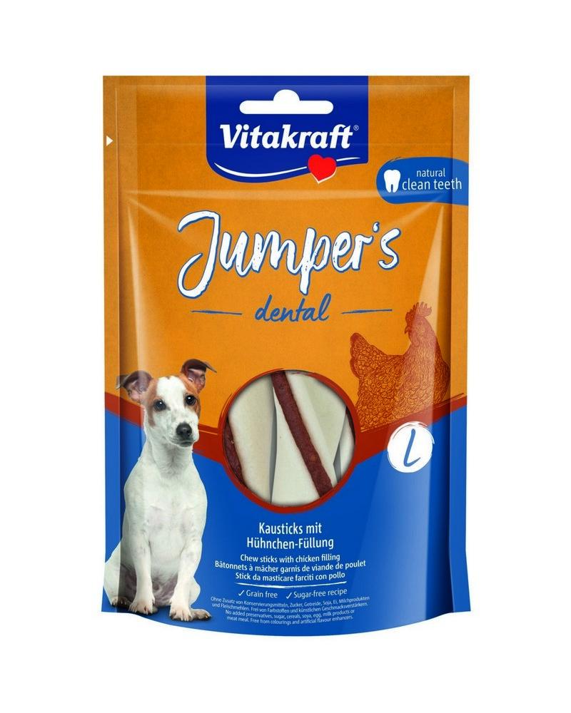 VITAKRAFT JUMPERS DENTAL TWISTED KURACIE L, 150 G, 2359602
