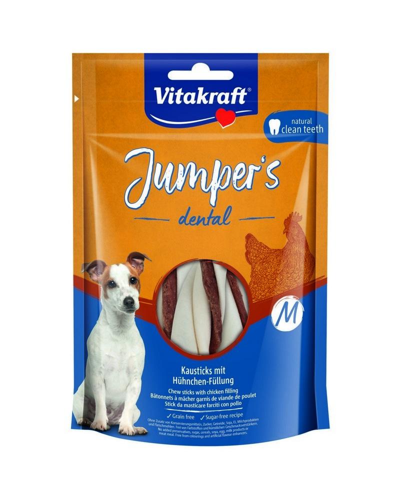 VITAKRAFT JUMPERS DENTAL TWISTED KURACIE M, 150 G, 2359600
