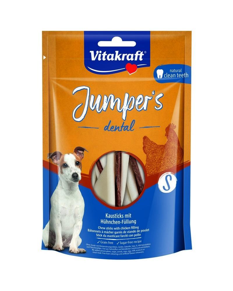 VITAKRAFT JUMPERS DENTAL TWISTED KURACIE S, 150G, 2359599