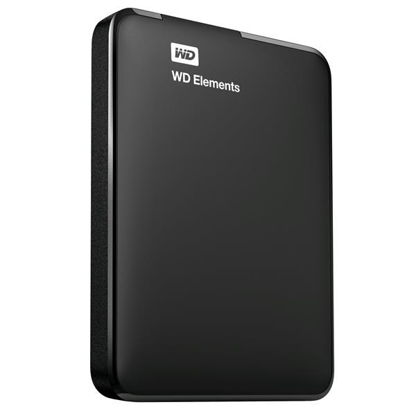 WD ELEMENTS PORTABLE 750GB EXT. 2.5 USB 3.0, BLACK WDBUZG7500ABK-WESN
