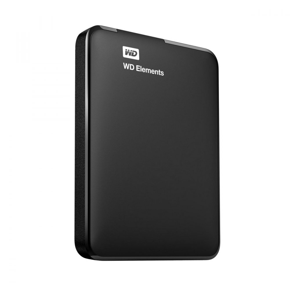 WD ELEMENTS PORTABLE 2.5'' EXTERNY HDD 1TB, USB 3.0, CIERNY WDBUZG0010BBK