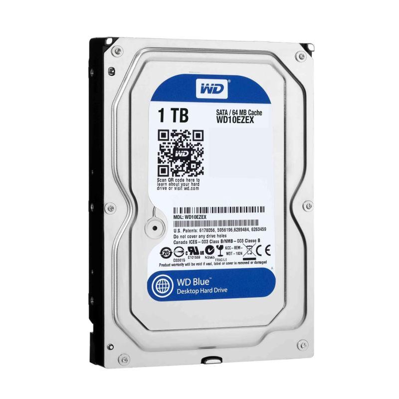 WD WD10EZEX HDD 1TB BLUE 64MB SATAIII/600 7200RPM 2RZ