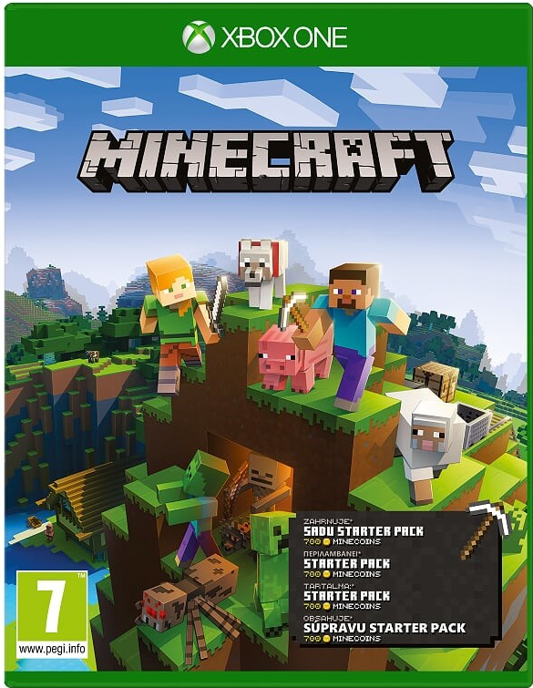 XBOX ONE MINECRAFT STARTER COLLECTION