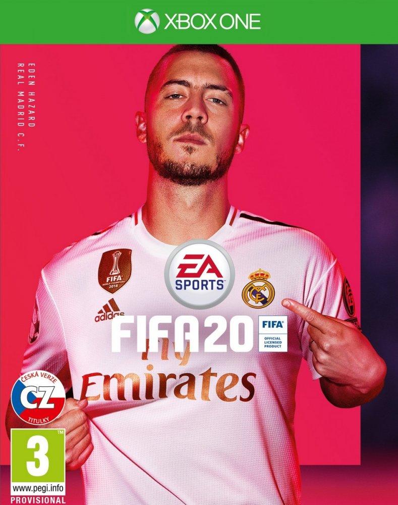 XBOX ONE FIFA 20 CZ