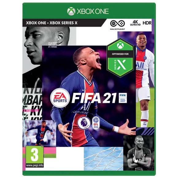 XBOX ONE FIFA 21 CZ