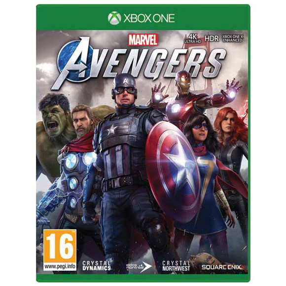 XBOX ONE MARVELS AVENGERS + CZ TITULKY