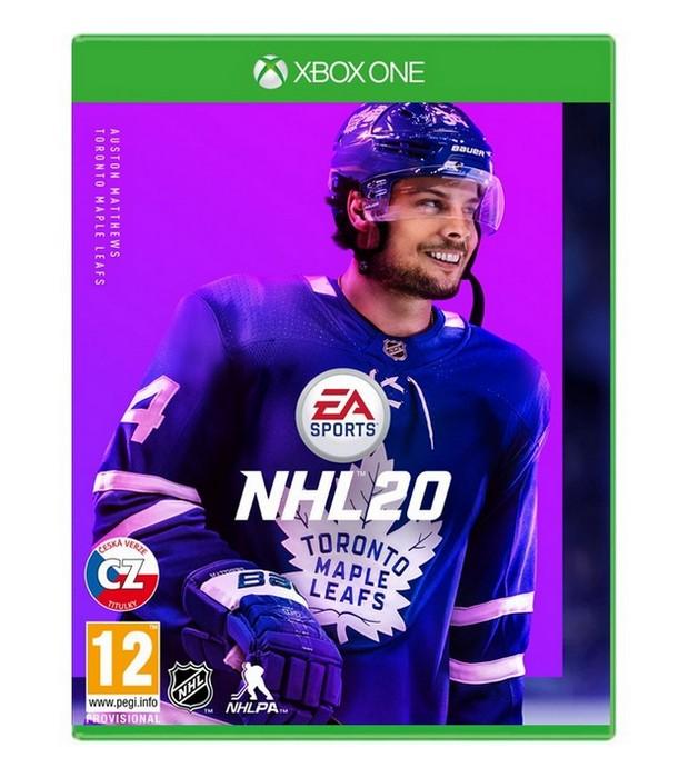 XBOX ONE NHL 20 CZ