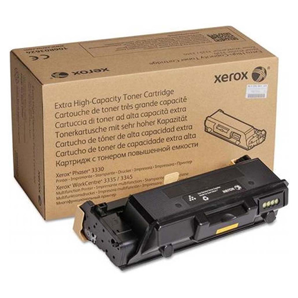 XEROX ORIGINAL TONER 106R03621 BLACK 8500STR XEROX WORKCENTRE 3300 3335 3345