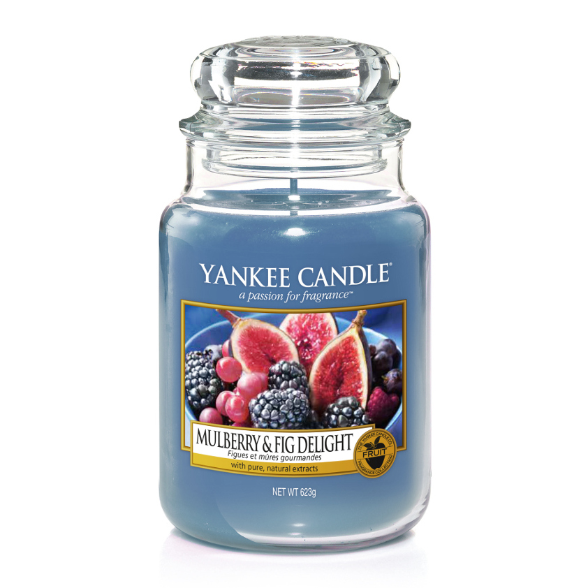 YANKEE CANDLE 1556245 SVIECKA MULBERRY AND FIG DELIGHTVELKA