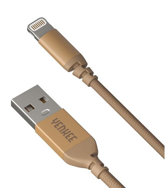YENKEE YCU 611 GD USB/LIGHTNING 1M