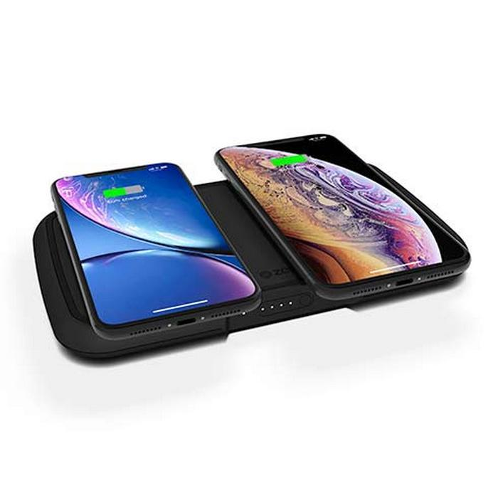 ZENS POWER DUAL BANK WIRELESS CHARGER 9000 MAH