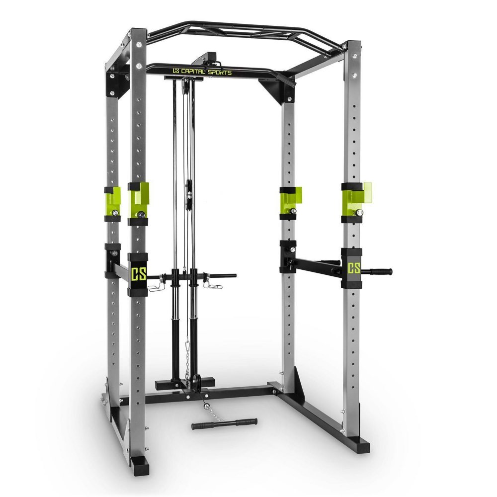 CAPITAL SPORTS TREMENDOUR PL POWER RACK ZELENY DOMACA POSILNOVNA KLADKA OCEL 10028833