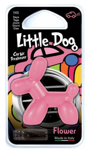 LITTLE DOG 3D - FLOWER