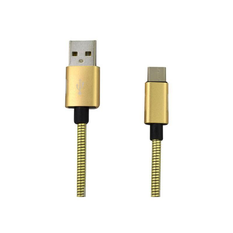 MOBILNET KAB-0061-USB-MICRO KABEL MICRO USB 2A 1M ZLATY