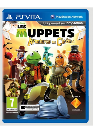 PS VITA THE MUPPETS MOVIE ADVENTURES