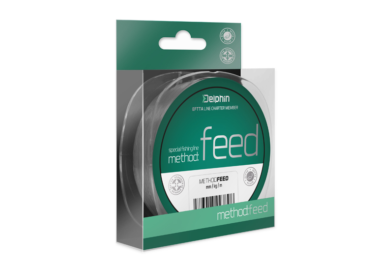 Delphin Method FEED sivá 5000m 025mm 121lbs