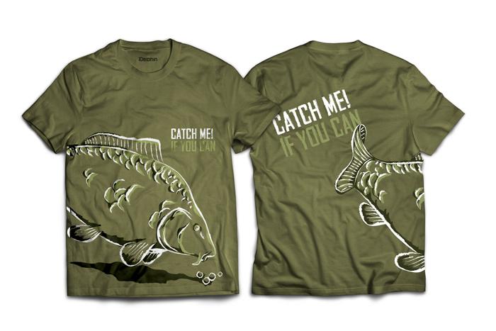 Tričko Delphin Catch me! S