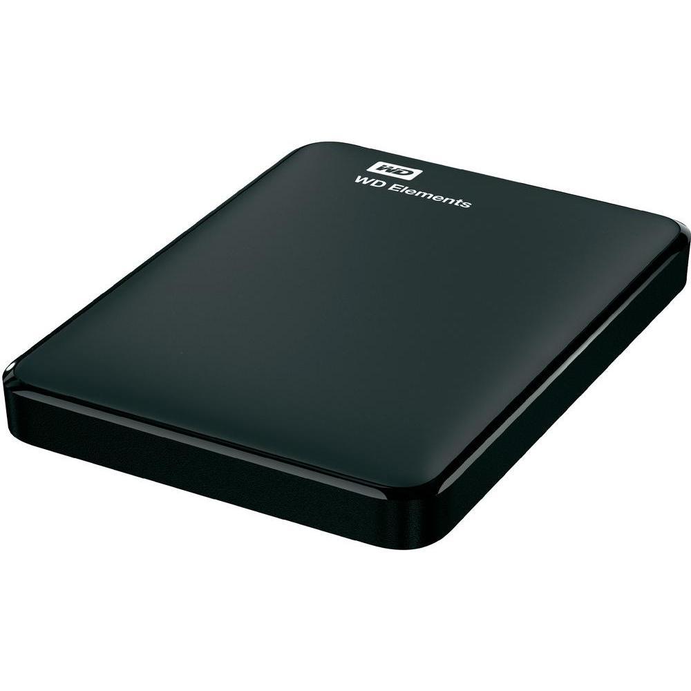 """Disk Western Digital Elements Portable 2TB, USB 3.0, 2.5"""" externí, Black"""