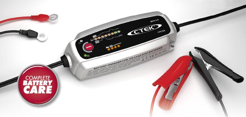 Nabíjačka autobatérií CTEK MXS 5.0 new 12 V, 0,8 A/5 A
