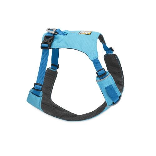 Postroj pre psy Ruffwear Hi & Light™-blue-atol-L/XL