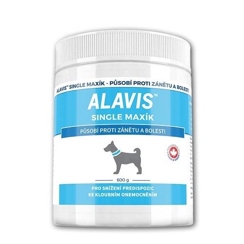 Doplnok výživy pre psy, ALAVIS Single Maxík, 600g