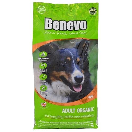 Krmivo pre psov, Benevo Adult Organic, 15kg