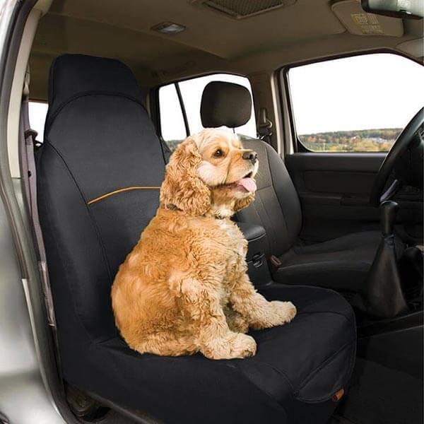 Ochranný poťah na predné sedadlo Kurgo Co-Pilot Bucket Seat Cover -black