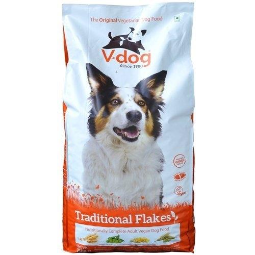 Krmivo pre psov, V-dog Traditional Flakes 15kg