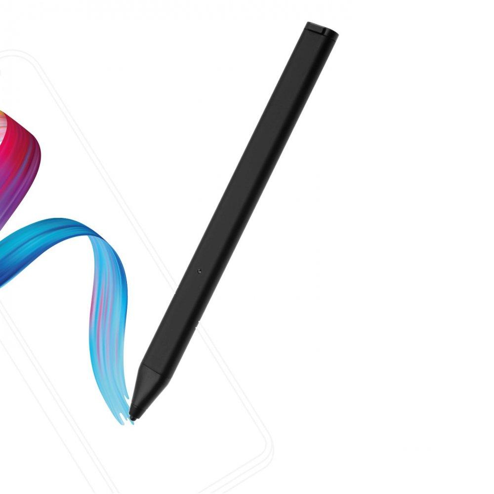 Aktivní stylus FIXED Pin pro dotykové displeje s pouzdrem, černý