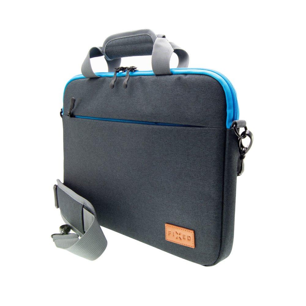 """Nylonová taška FIXED Urban pro notebooky do 15,6"""", černé"""