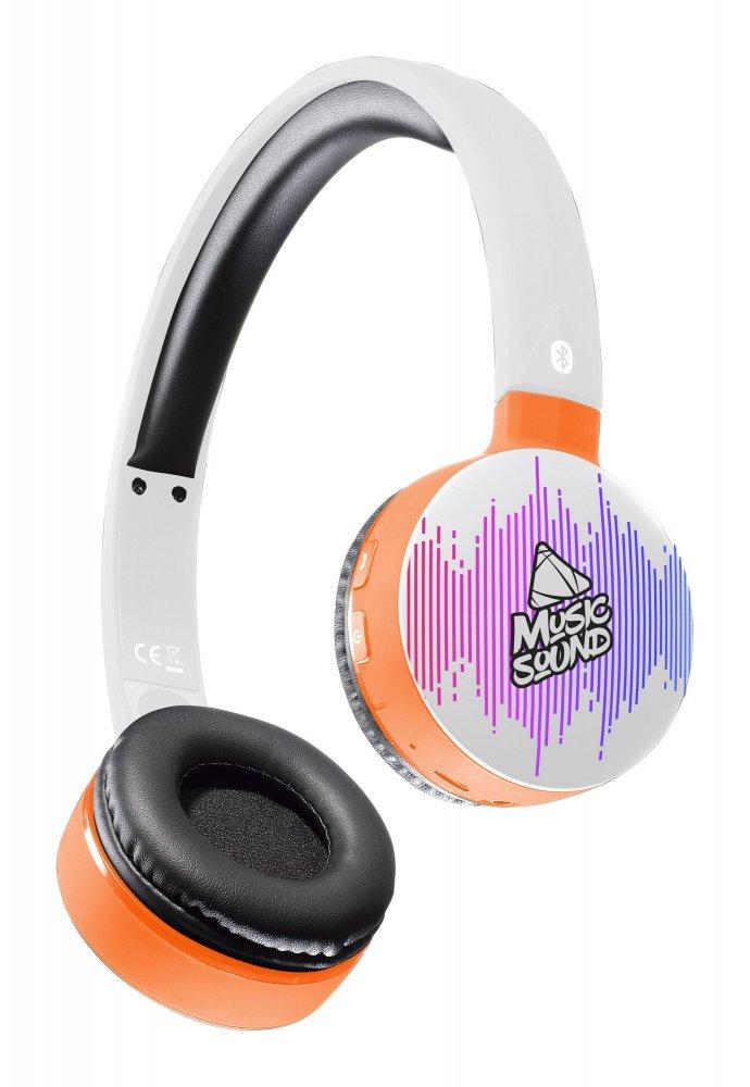 Bluetooth sluchátka MUSIC SOUND s hlavovým mostem a mikrofonem, vzor 4