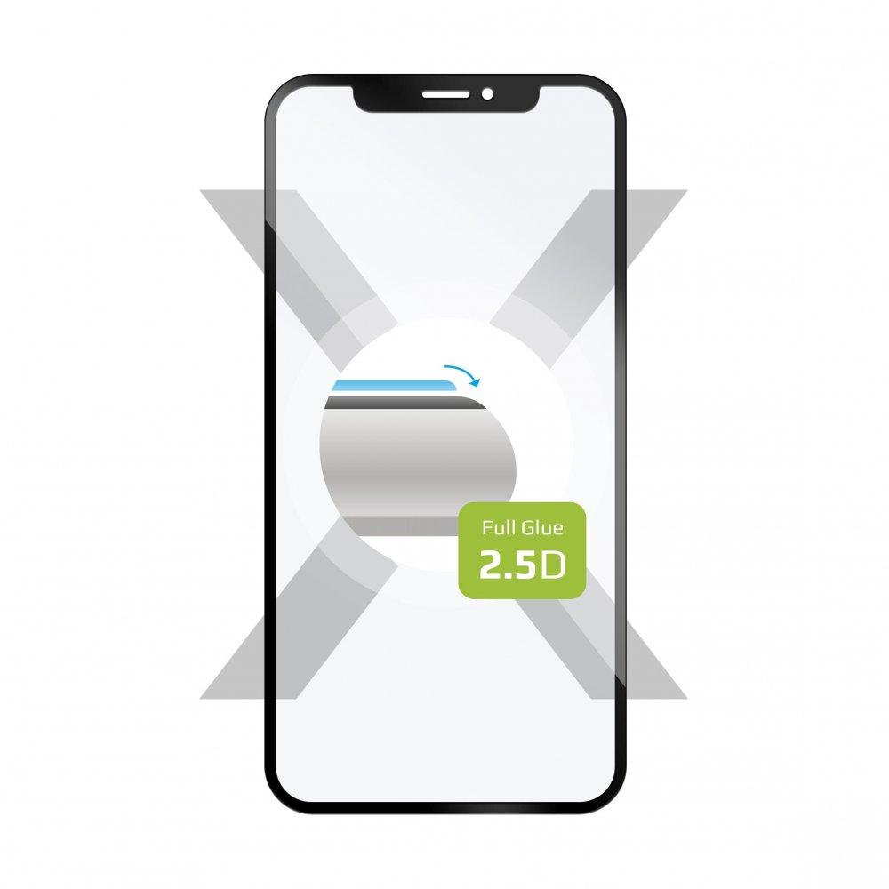 Ochranné tvrzené sklo FIXED Full-Cover pro ASUS Zenfone 7 Pro, lepení přes celý displej, černé