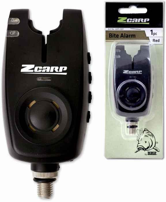 Elektronický rybársky signalizátor záberu Zcarp Farba: zelená