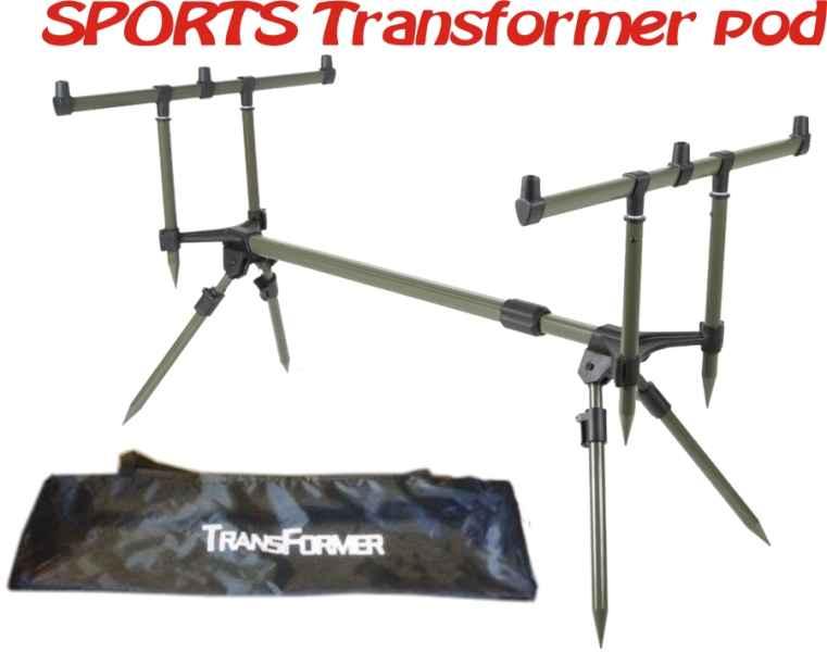 SPORTS stojan na 3 prúty Transformer pod 1ks