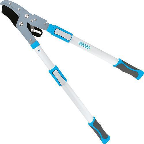 Noznice AQUACRAFT® 360770, na konáre, cut.40 mm, Alu/SoftGrip, s nákovkou, nastaviteľné +30 cm