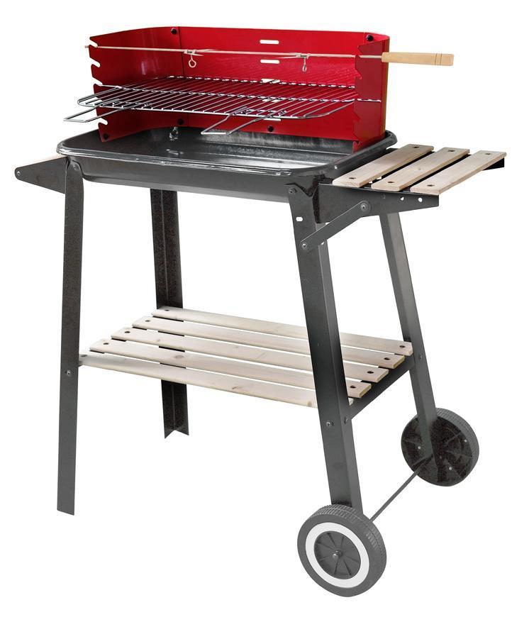 Gril Strend Pro Granada, BBQ, na drevené uhlie, 61x37x90cm