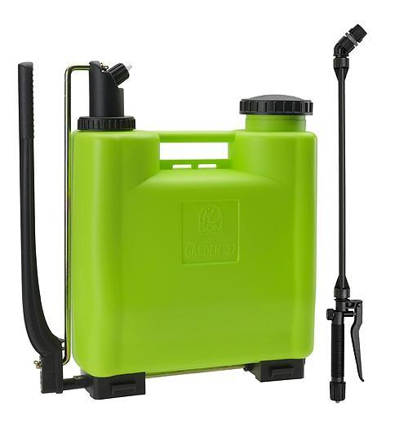Postrekovac dimartino® Garden 22, 19.00/20.25 lit, 2/5 bar, nyplen, HERMETIC 100%, teleskopická tyč