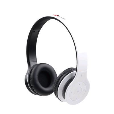 Sluchátka Gembird Berlin Bluetooth, mikrofon, bílá