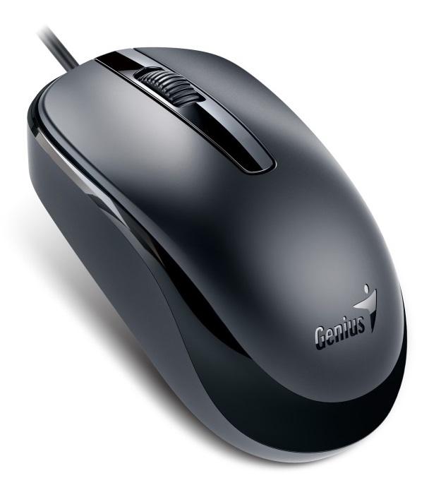 Genius myš DX-120/ drátová/ 1200 dpi/ USB/ černá