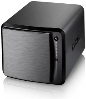 ZyXEL NAS542 4bay Dual Core Personal Cloud Storage Dual Core CPU 12GHz 1GB DDR3 memory 4 SATA II 2535 HDD R