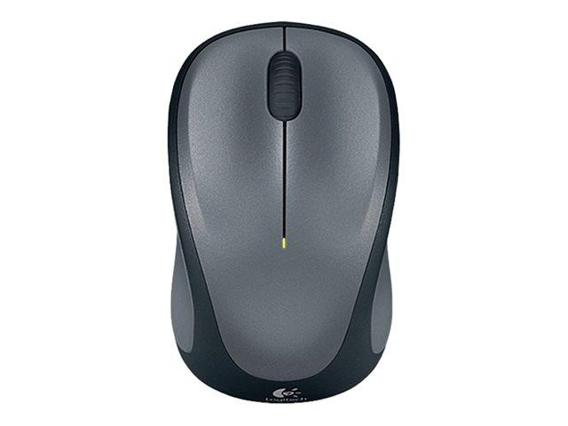 Logitech myš Wireless Mouse M235, optická, podpora unifying, 3 tlačítka, šedá,1000dpi