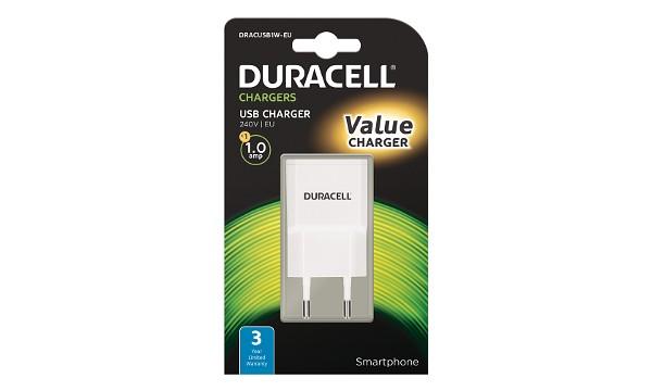 Duracell - USB Nabíječka pro čtečky & telefony 1A