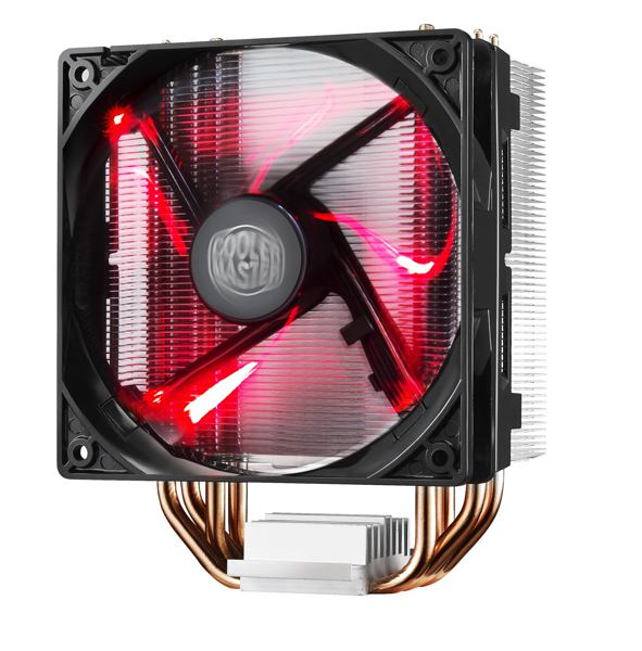 Coolermaster chladič Hyper 212 LED  univ socket 120mm PWM red LED fan