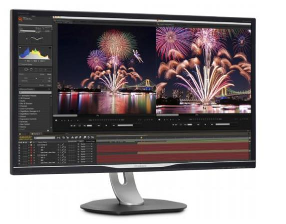 "Philips LCD 328P6AUBREB 31,5""IPS W-LED /2560x1440/50mil:1/4ms/VGA/DP/HDMI/USB-C/RJ-45/2xUSB/pivot/repro"