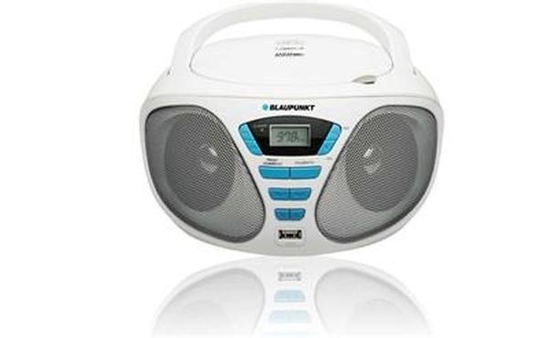 Rádiomagnetofon BLAUPUNKT BB5WH FM PLL CD/MP3/USB bílý