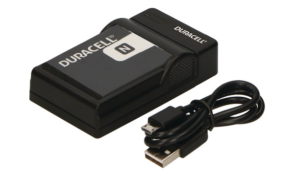Duracell Digital Camera Battery Charger for Sony NP-BN1, NP-FE1; Casio NP-120
